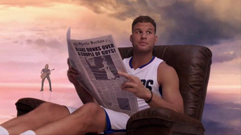 2016 Kia Optima TV Spot, 'Newspaper' Featuring Blake Griffin - 328 commercial airings