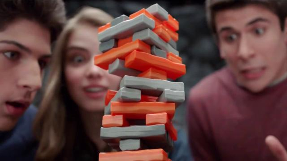 Jenga Quake Tv Commercial Here Comes The Quake Ispottv
