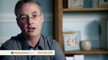 HomeAdvisor TV Spot, 'HomeAdvisor Testimonials' - Thumbnail 1