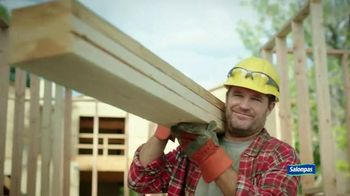 Salonpas Pain Relieving Patch TV Spot, 'Working Hard'