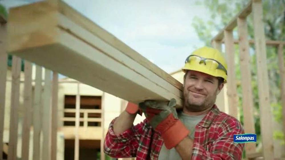 Salonpas Pain Relieving Patch TV Commercial, 'Working Hard'