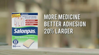 Salonpas Pain Relieving Patch TV Spot, 'Working Hard' - Thumbnail 7