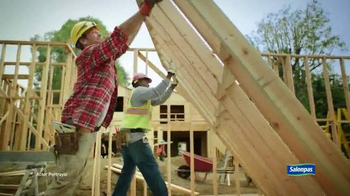 Salonpas Pain Relieving Patch TV Spot, 'Working Hard' - Thumbnail 2