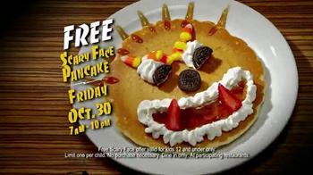 IHOP Free Scary Face Pancake TV Spot, 'Halloween' - Thumbnail 5