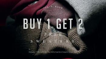 JoS. A. Bank TV Spot, 'Buy 2 Sweaters, Get 1 Free' - Thumbnail 3