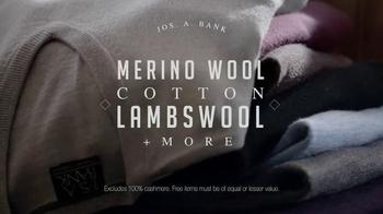 JoS. A. Bank TV Spot, 'Buy 2 Sweaters, Get 1 Free' - Thumbnail 4