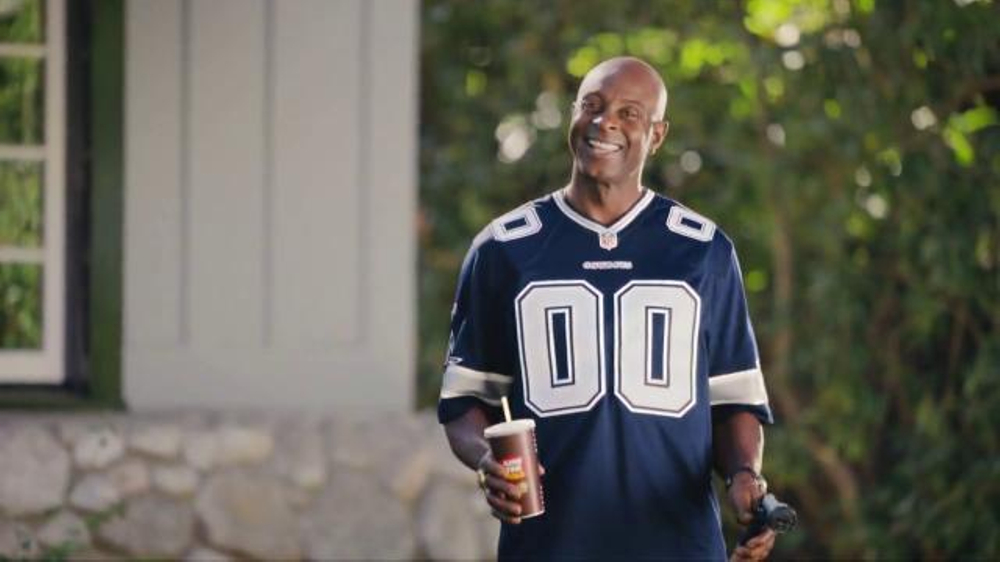 McDonald's TV Commercial, 'Jerry's Flowers' Featuring Jerry Rice