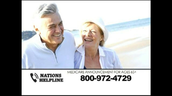 Nations Helpline TV Spot, 'Medicare Supplement Insurance' - Thumbnail 1