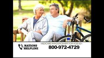Nations Helpline TV Spot, 'Medicare Supplement Insurance' - Thumbnail 4