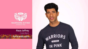 Ford Warriors in Pink TV Spot, 'Code Black: Raza Jaffrey' - Thumbnail 1