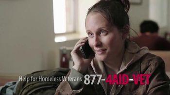 U.S. Department of Veteran Affairs TV Spot, 'Help for Homeless Veterans'