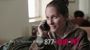 U.S. Department of Veteran Affairs TV Spot, \'Help for Homeless Veterans\'