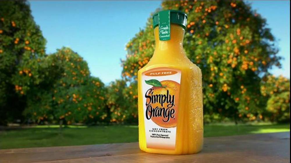 Simply Orange TV Commercial, 'Tour'