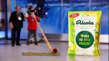 Ricola TV Spot, 'ABC: Good Morning America' - Thumbnail 8