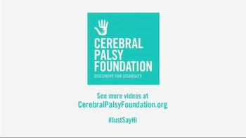 Cerebral Palsy Foundation TV Spot, 'Just Say Hi' Featuring Mario Batali