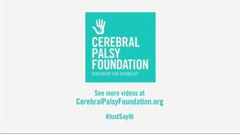 Cerebral Palsy Foundation TV Spot, 'Just Say Hi' Featuring Mario Batali - 26 commercial airings