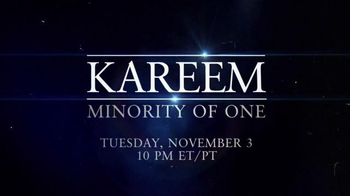HBO TV Spot, 'Kareem: Minority of One' - Thumbnail 8