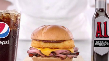 Arby's A.1. Special Reserve Steak Sandwich TV Spot, 'Snuggling' - Thumbnail 4