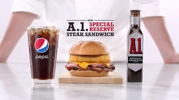 Arby's A.1. Special Reserve Steak Sandwich TV Spot, 'Snuggling' - 1421 commercial airings