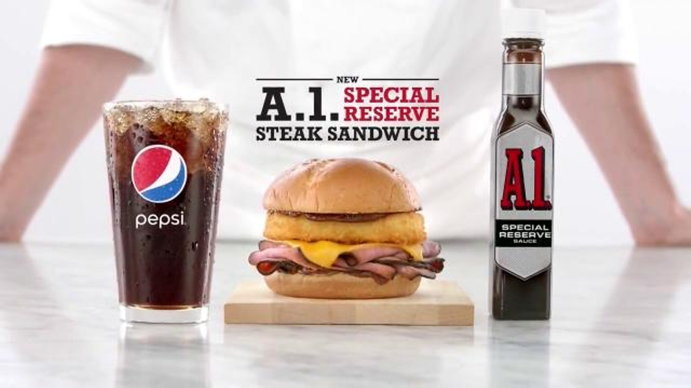 Arby's A.1. Special Reserve Steak Sandwich TV Commercial, 'No One Else Has It'