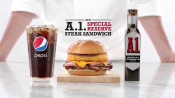 Arby's A.1. Special Reserve Steak Sandwich TV Spot, 'No One Else Has It' - 1340 commercial airings
