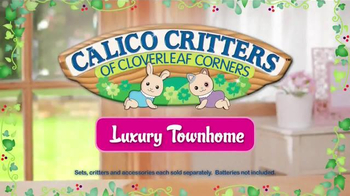 Calico Critters Luxury Townhome TV Spot, 'Home is Where Love Lives' - Thumbnail 6