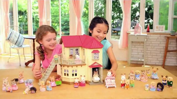 Calico Critters Luxury Townhome TV Spot, 'Home is Where Love Lives'