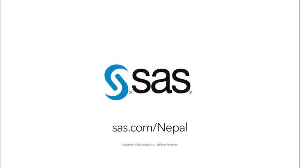 sas institute Overview sas creates analytic software that turns data – about customers, operations, financials and more – into insight in 149 countries, customers use sas to boost marketing, battle cybercrime, speed drugs to market, streamline supply chains and much more.
