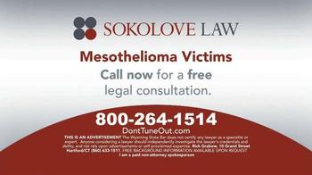 Sokolove Law TV Spot, 'Don't Tune Out' - Thumbnail 8