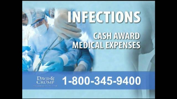 Davis & Crump, P.C. TV Spot, 'Replacement Infections' - Thumbnail 3