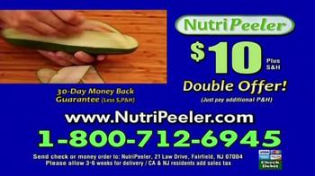 NutriPeeler TV Spot, 'Peel, Slice and Shred' - Thumbnail 8