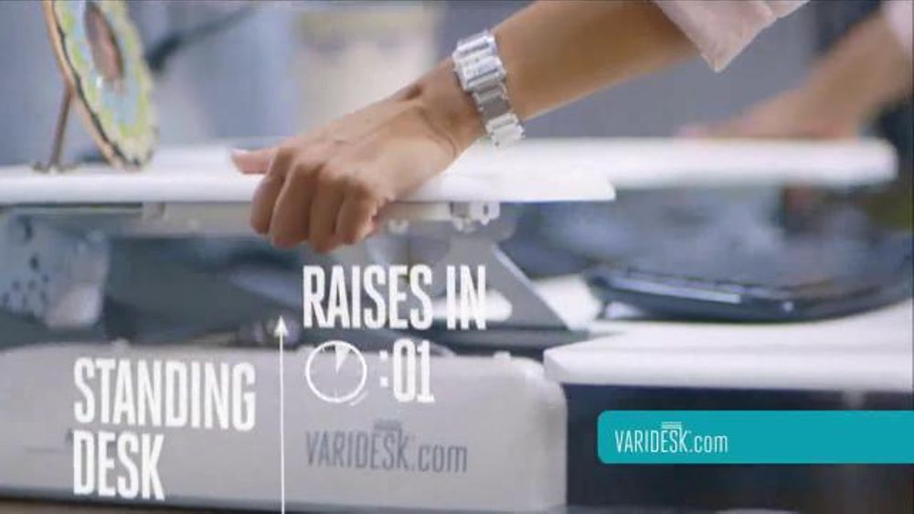 Varidesk Tv Commercial Transform Your Workspace Ispot Tv