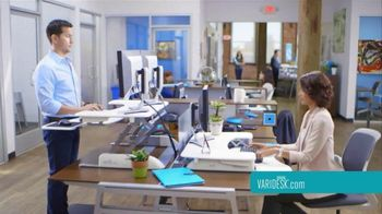 Varidesk TV Spot, 'Transform Your Workspace' - Thumbnail 9