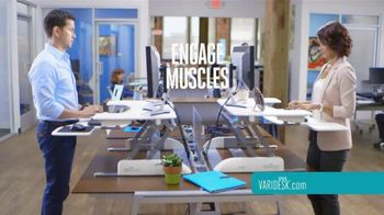Varidesk TV Spot, 'Transform Your Workspace' - Thumbnail 6