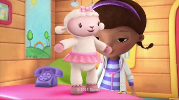 Doc McStuffins Take Care of Me Lambie TV Spot, 'Check Up' - Thumbnail 8