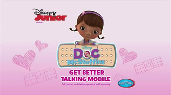 Doc McStuffins Get Better Talking Mobile TV Spot, 'Disney Junior: Friends' - Thumbnail 5