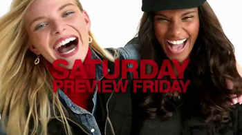 Macy's One Day Sale TV Spot, 'Earrings, Coats and Luggage' - Thumbnail 1