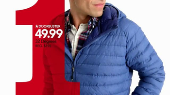Macy's One Day Sale TV Spot, 'Earrings, Coats and Luggage' - Thumbnail 4