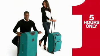 Macy's One Day Sale TV Spot, 'Earrings, Coats and Luggage' - Thumbnail 6