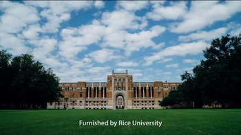 Rice University TV Spot, 'The Hour for Change and Challenge Is Still Here'