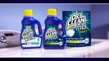 OxiClean Laundry Detergent HD TV Spot, 'Remove Tough Stains' - Thumbnail 7
