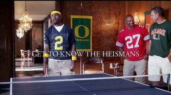 Nissan TV Spot, 'Heisman House: Quick Change: Marcus vs. Charles' - Thumbnail 10