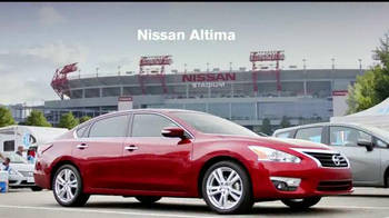 2015 Nissan Altima TV Spot, 'Drive to the Game' Song by Bruno Mars
