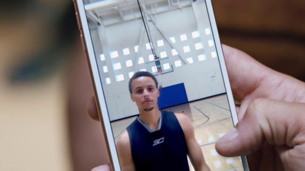 Apple iPhone 6s TV Commercial, 'Half Court' Featuring Stephen Curry