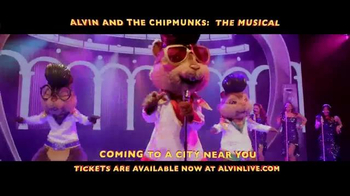 Alvin and the Chipmunks: The Musical TV Spot, 'Once in a Lifetime' - Thumbnail 6
