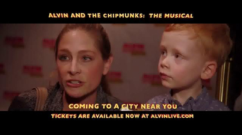 Alvin and the Chipmunks: The Musical TV Spot, 'Once in a Lifetime' - Thumbnail 5