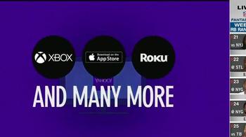 Yahoo! TV Spot, 'NFL Football Stream'