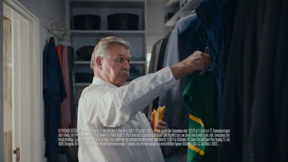 McDonald's TV Commercial, 'Ditka's New Team' Featuring Mike Ditka