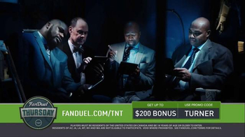 FanDuel TV Spot, 'TNT' - 9 commercial airings