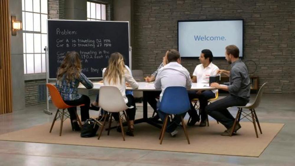 Chevrolet Equinox TV Commercial, 'Forward Collision Alert: Math Problem'